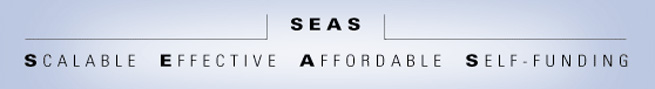 SEAS Model - Scalable Effective Affordable Self-Funding